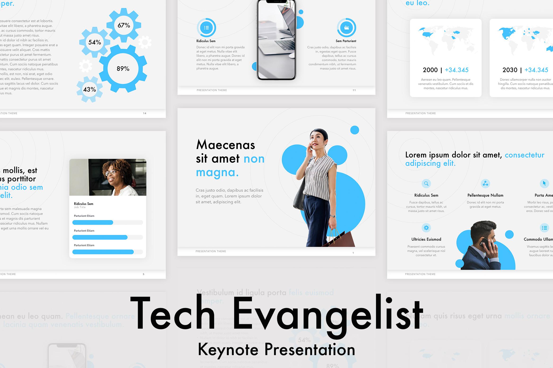 Tech Evangelist Keynote Template example image 1