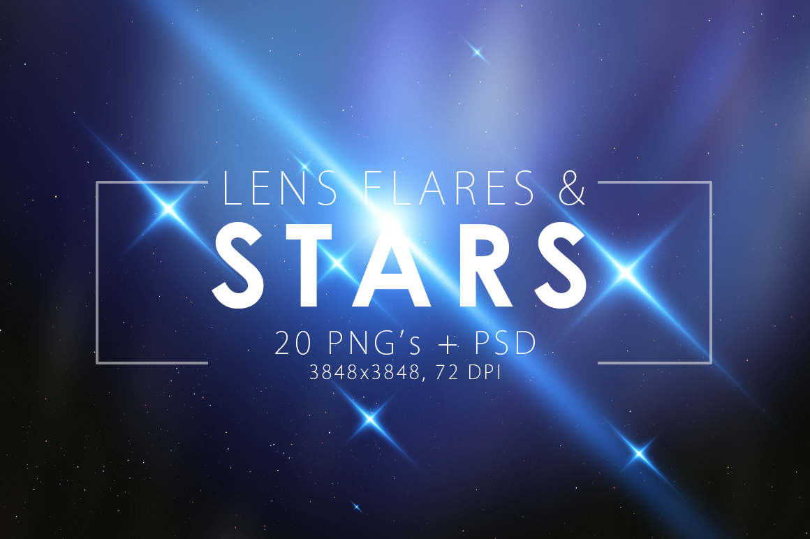 Stars & Flare Pack example image 1