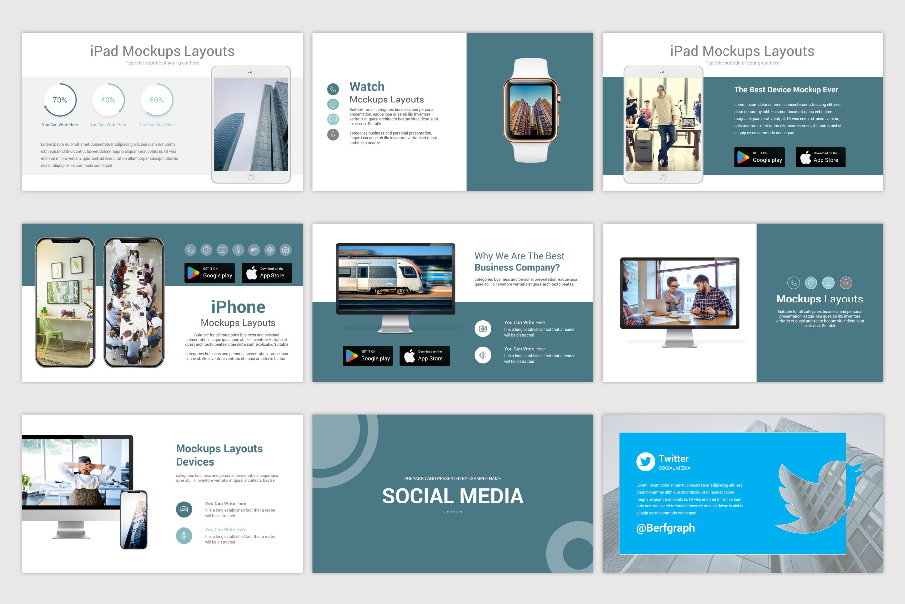 Simplicity PowerPoint Template example image 15