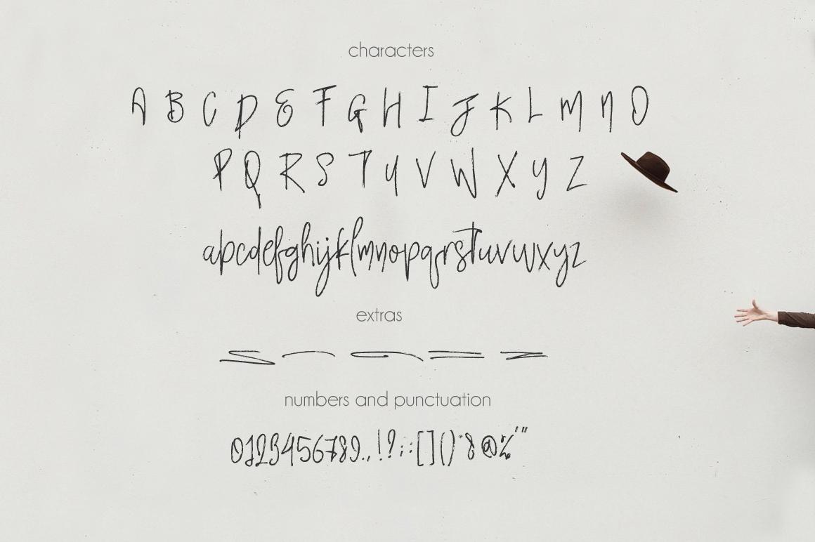 Rimbaud Script example image 5