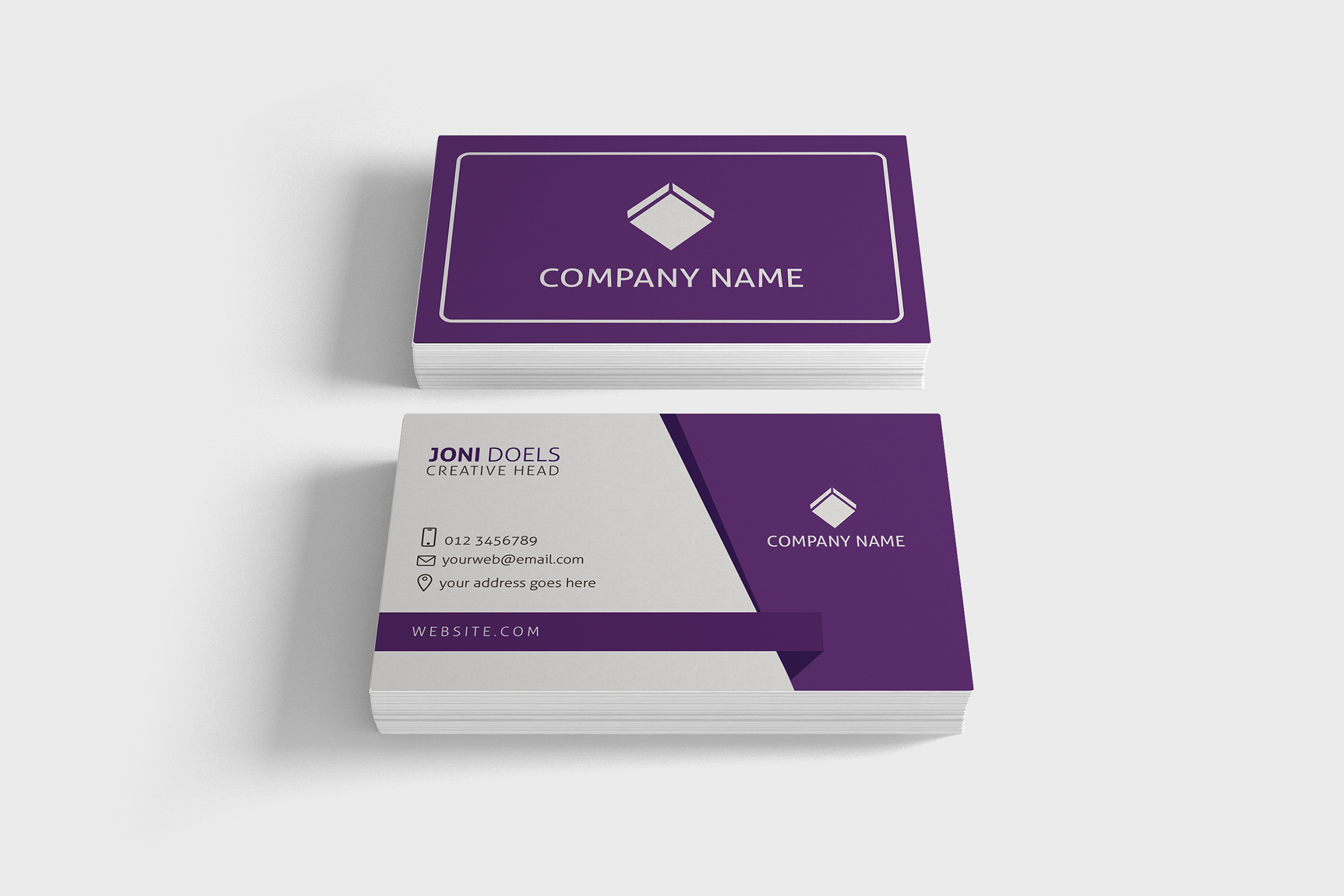 Business Card vol.04 example image 1