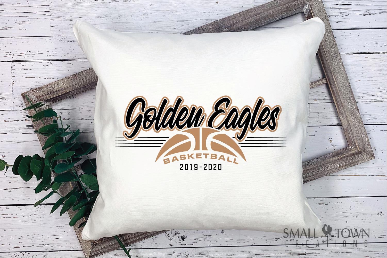 Golden Eagles, Basketball, Sport, Design, PRINT, CUT, DESIGN example image 3