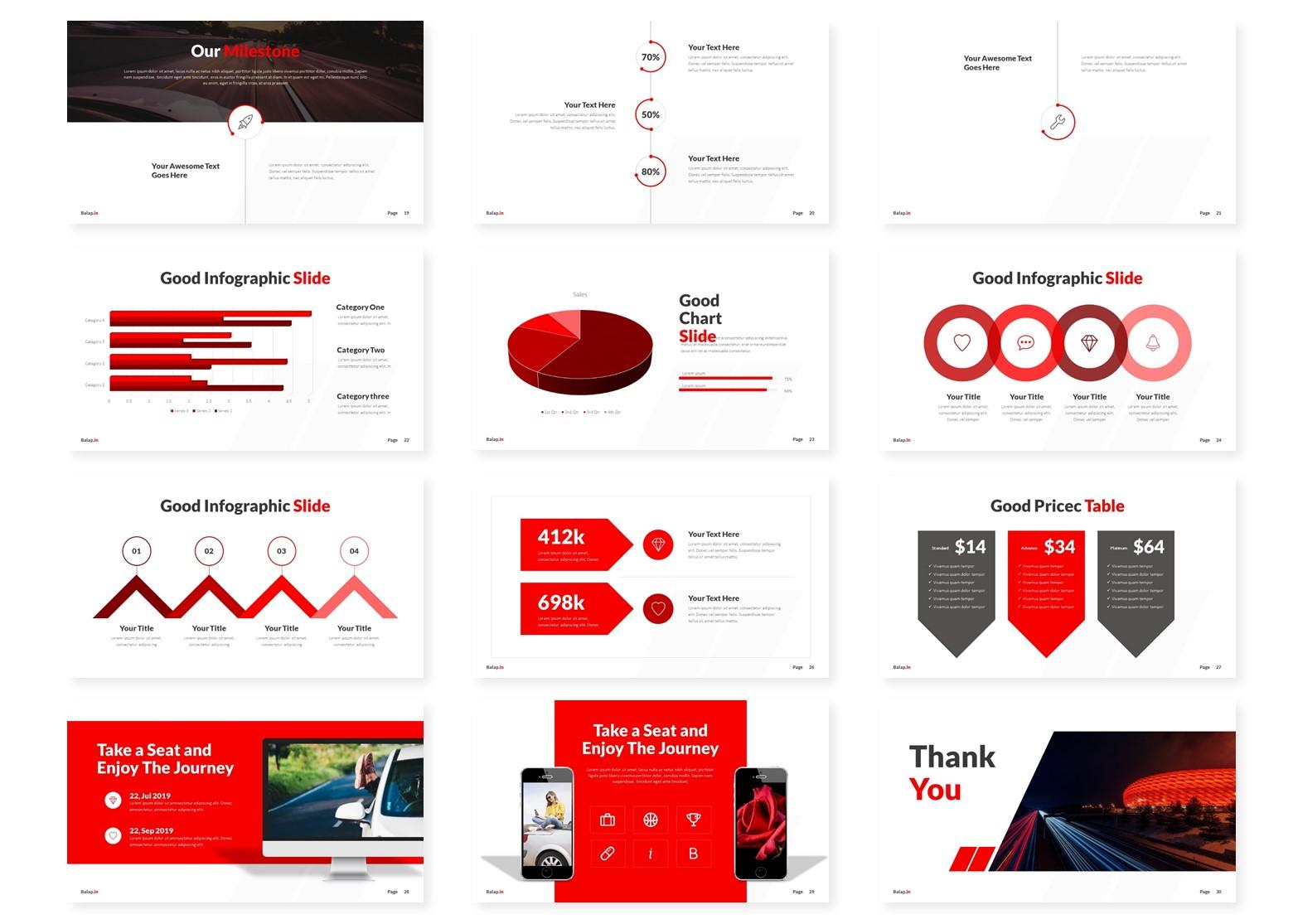 Balapin | Powerpoint, Keynote, GoogleSlides Template example image 6