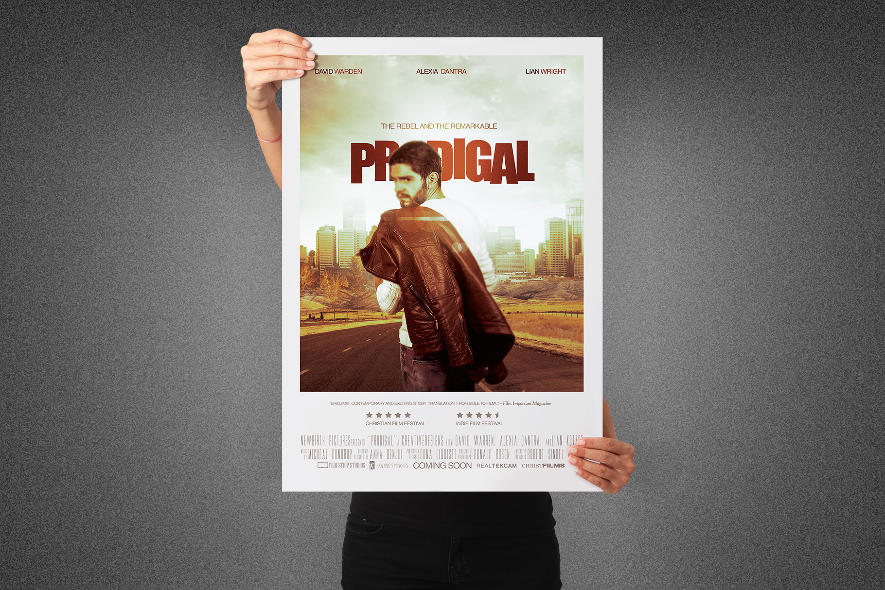 Prodigal Movie Poster Template example image 3