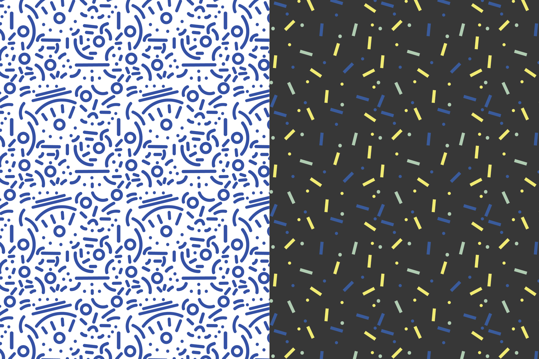 Abstract Geometric Patterns example image 6