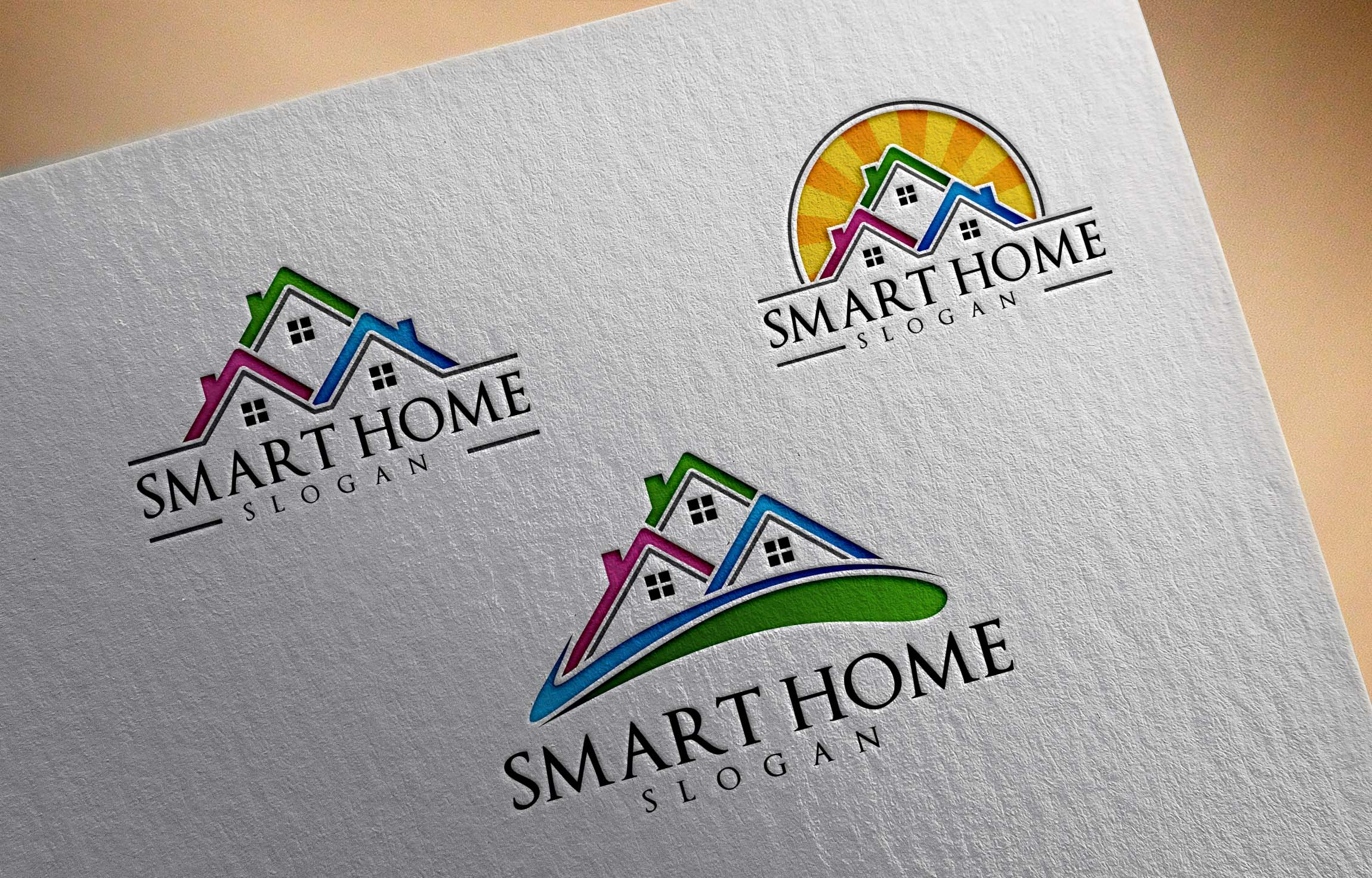 Real estate logo design, home,house example image 4