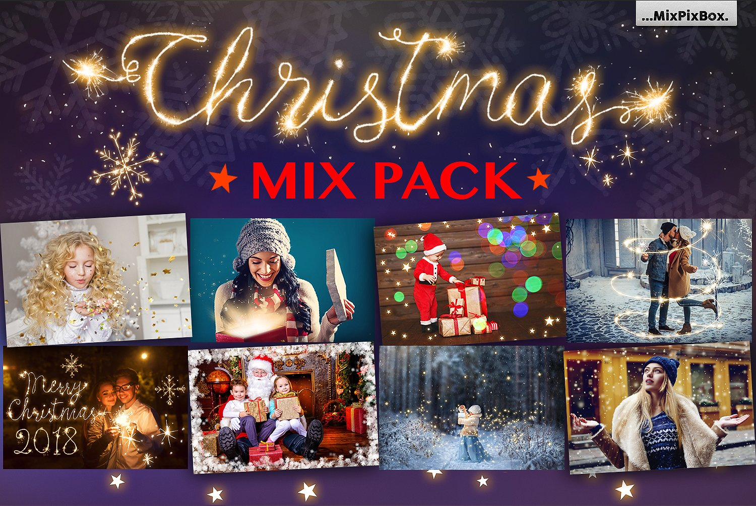 Christmas Mix PACK example image 1
