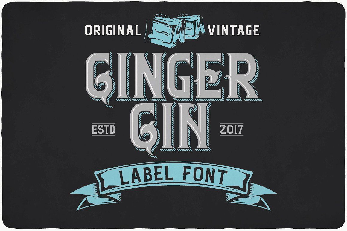 Vintage Fonts Bundle example image 8