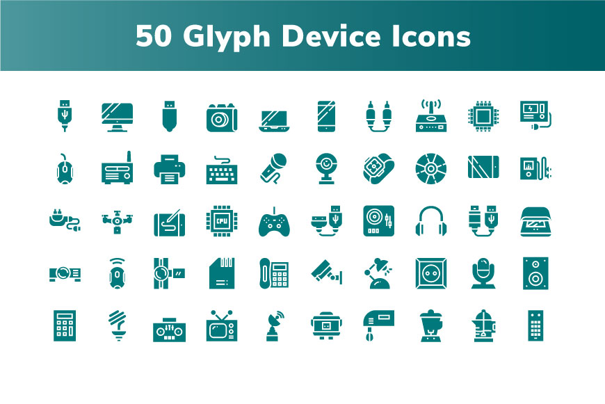 200 Device and Electronic Icon example image 3