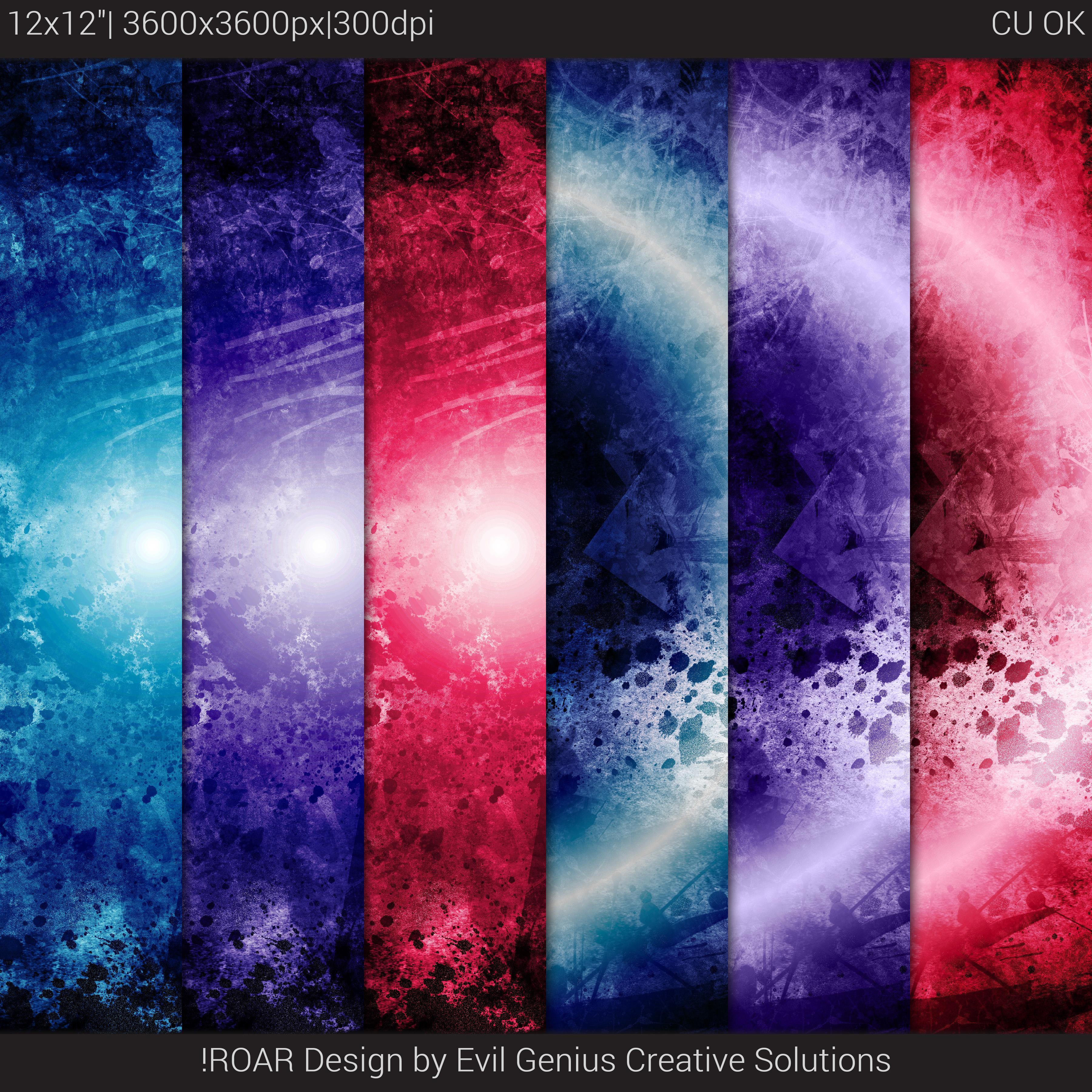 Grunge Gradient Space Scifi Texture Set #3 example image 3
