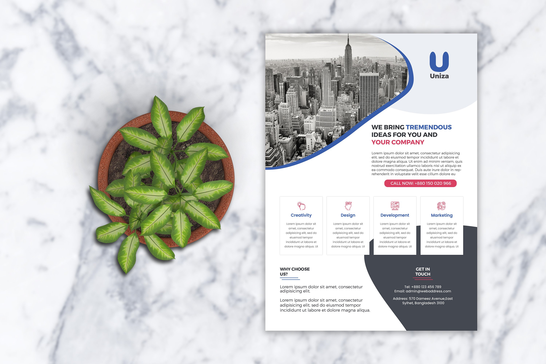 Lumen Corporate Flyer example image 1