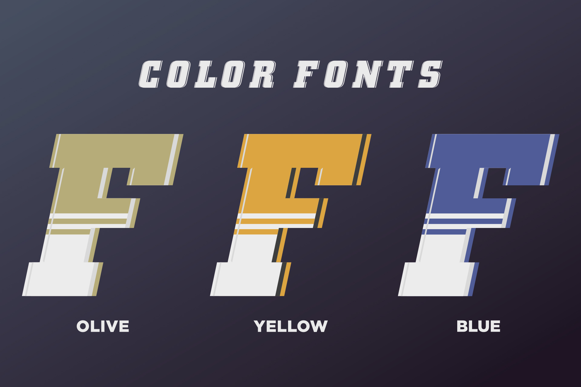SVG color font - Fargo example image 3