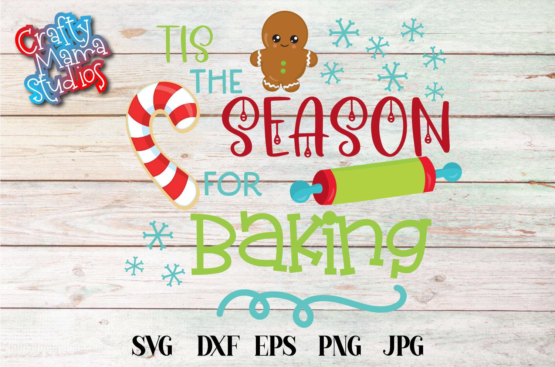 Christmas Cookie Baking Bundle SVG, Christmas Sublimation example image 5