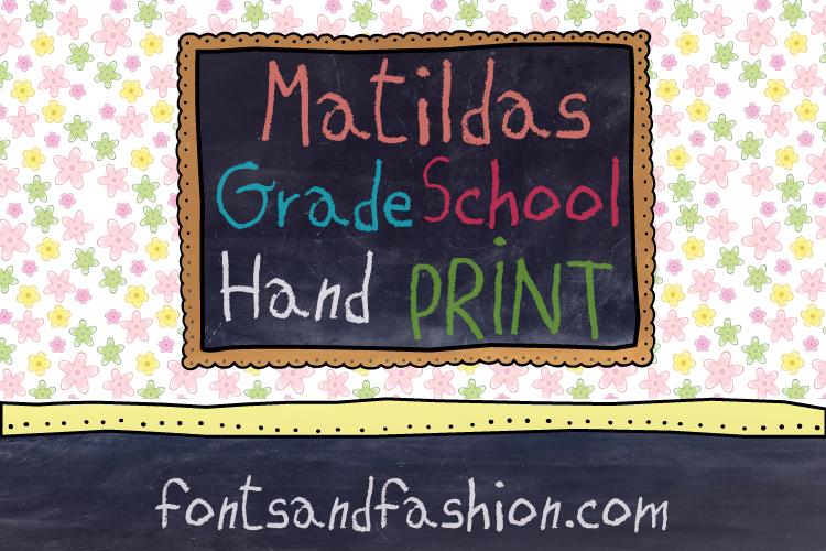 Matildas Grade School Hand_Pack example image 8