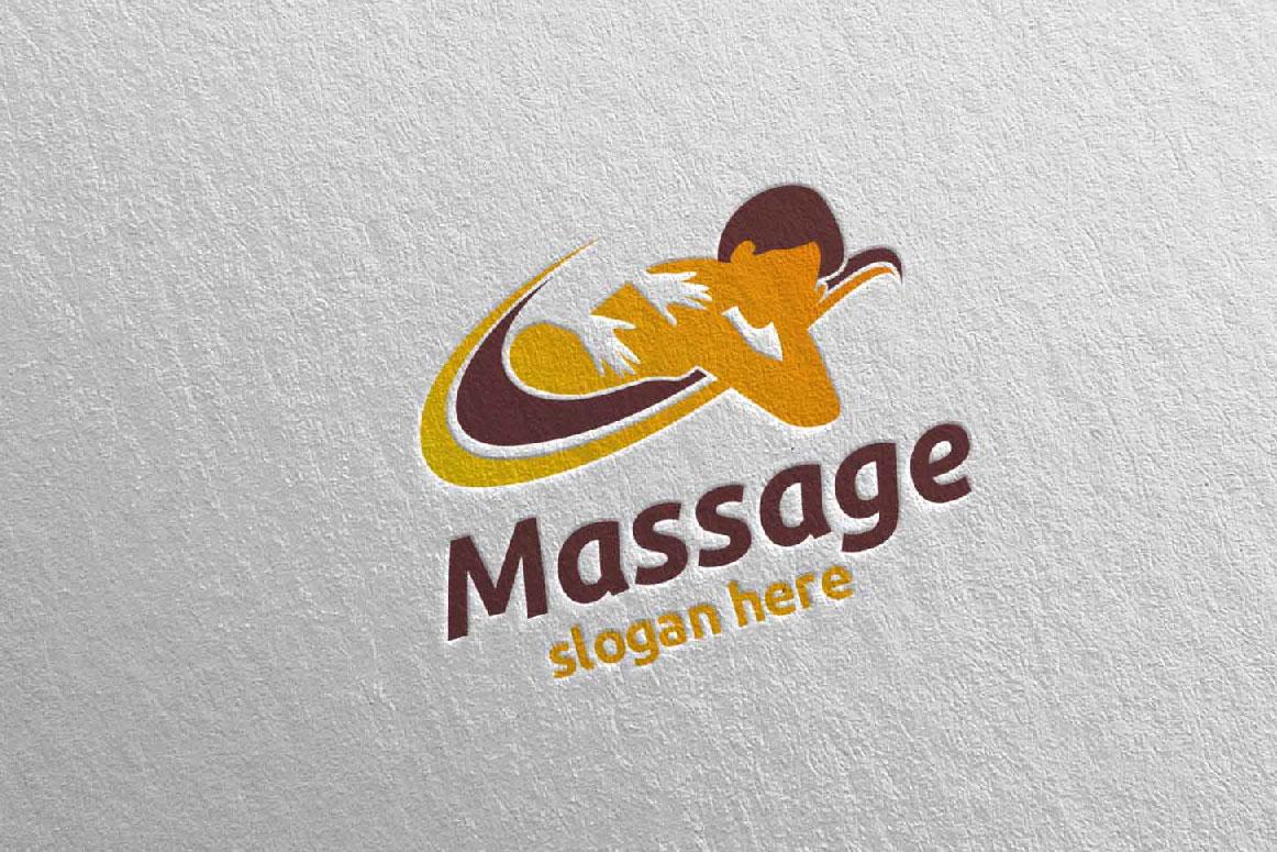 Massage Logo Design example image 1