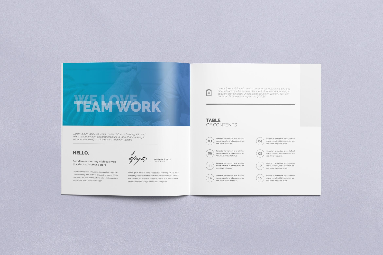 Multipurpose Square Brochure example image 3