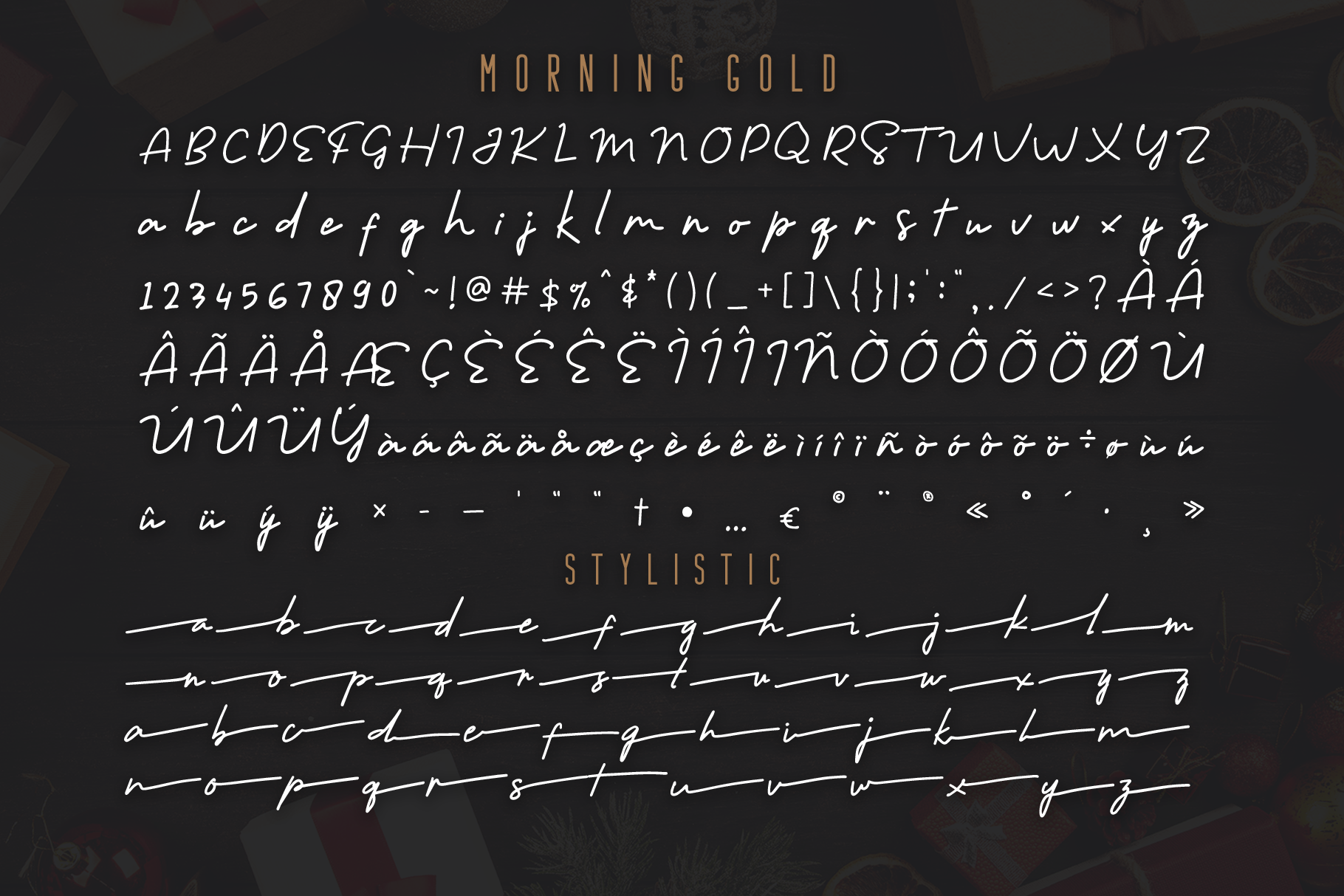 Morning Gold - Handwritten Font example image 7
