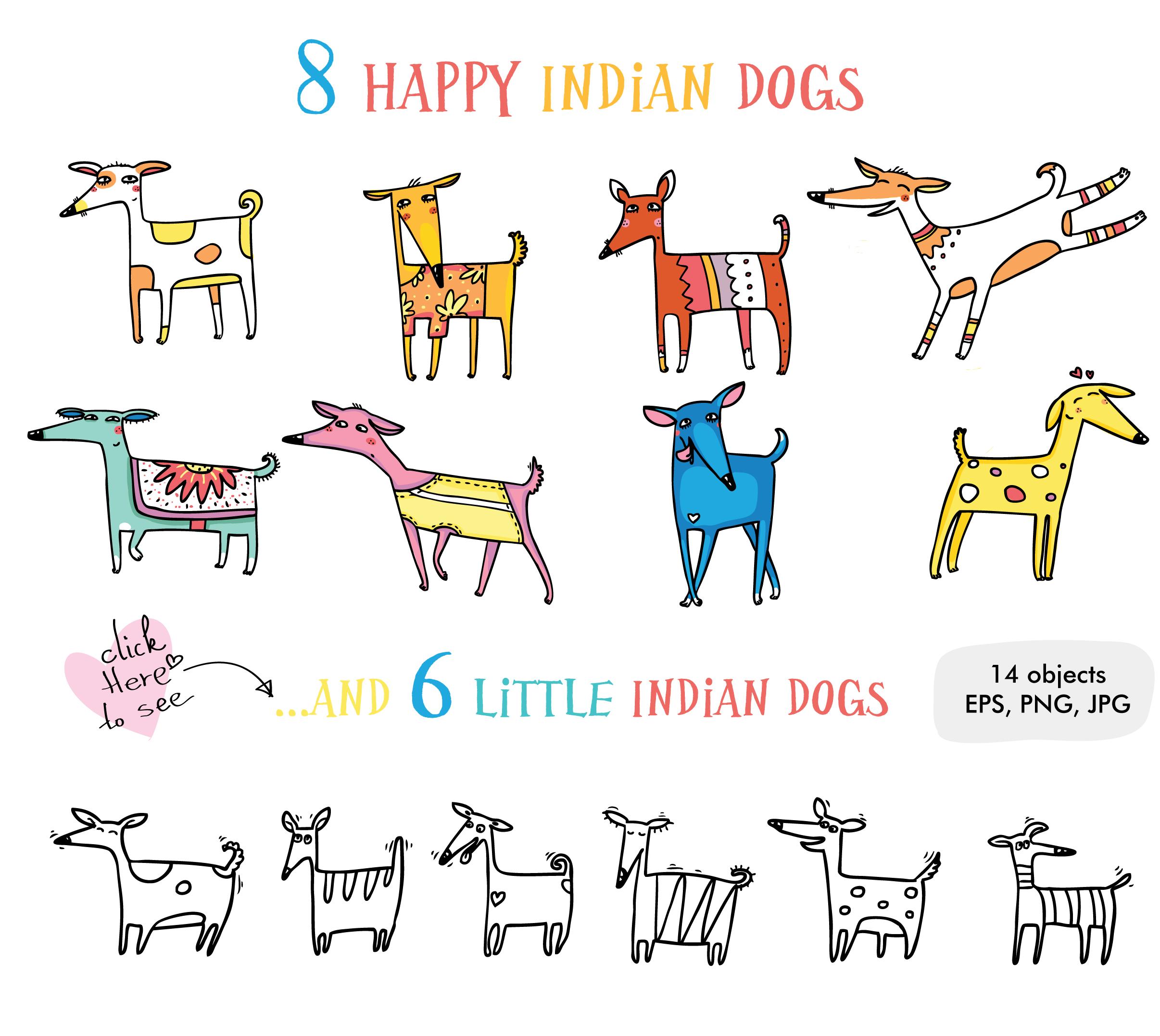 Big Indian Bundle - 145 objects example image 21