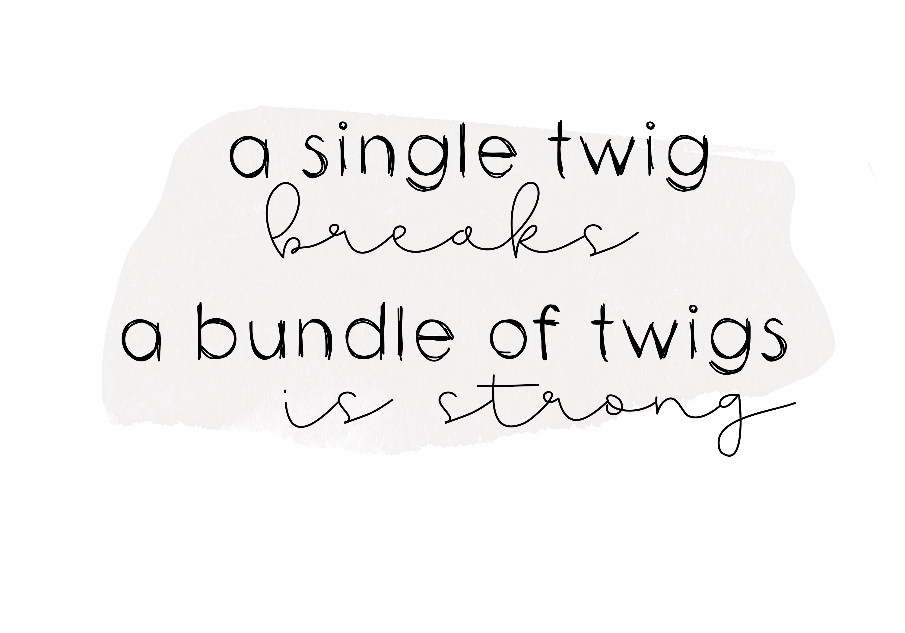 Twigs - A Handwritten Scribble Font example image 4
