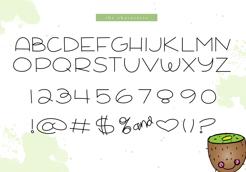 Kiwi Smoothie - A Fun Handwritten Font example image 5