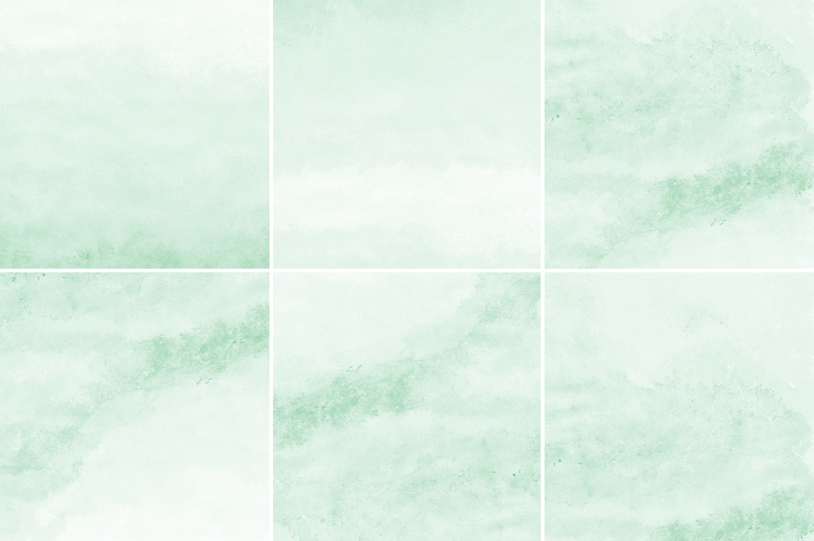 Mint Green Watercolor Texture Backgrounds example image 3