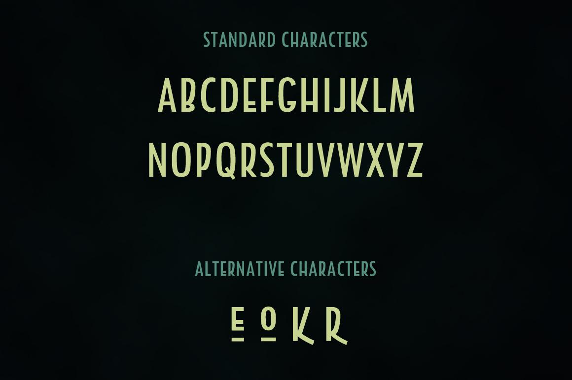 Holder Sans Font Family example image 4
