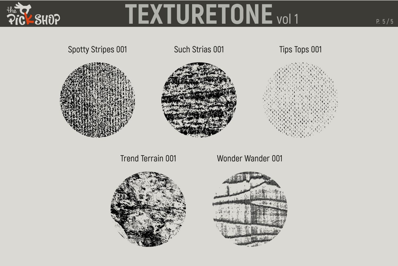 Texturetone Promo Pack. Vol 01 and Vol 02 example image 6