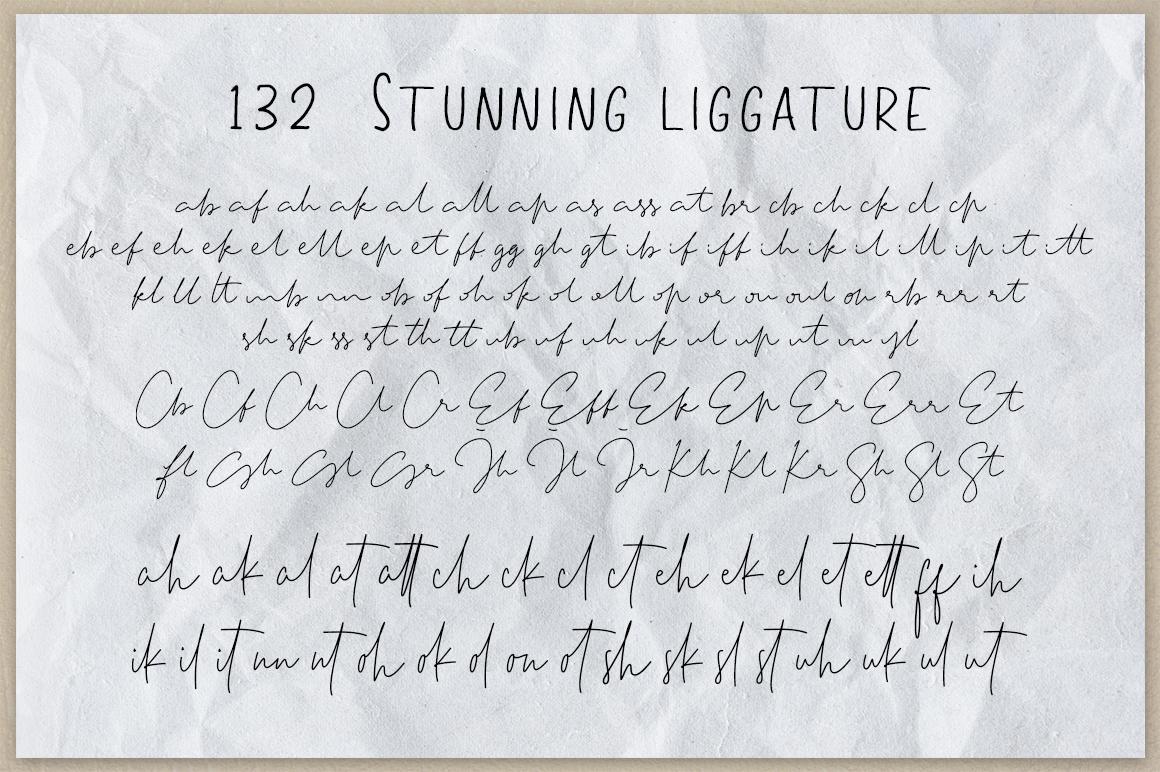 Tiffany Script example image 12