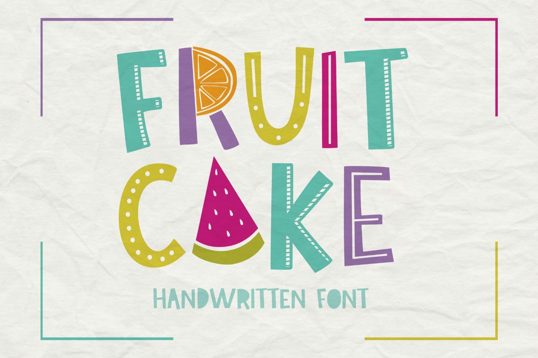 Fruit Cake Handwritten Font example image 6