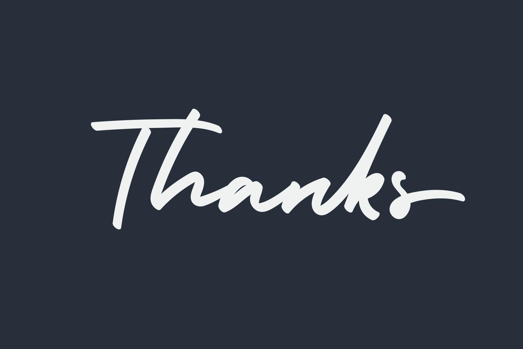 Holiday - Bold Signature Font example image 8