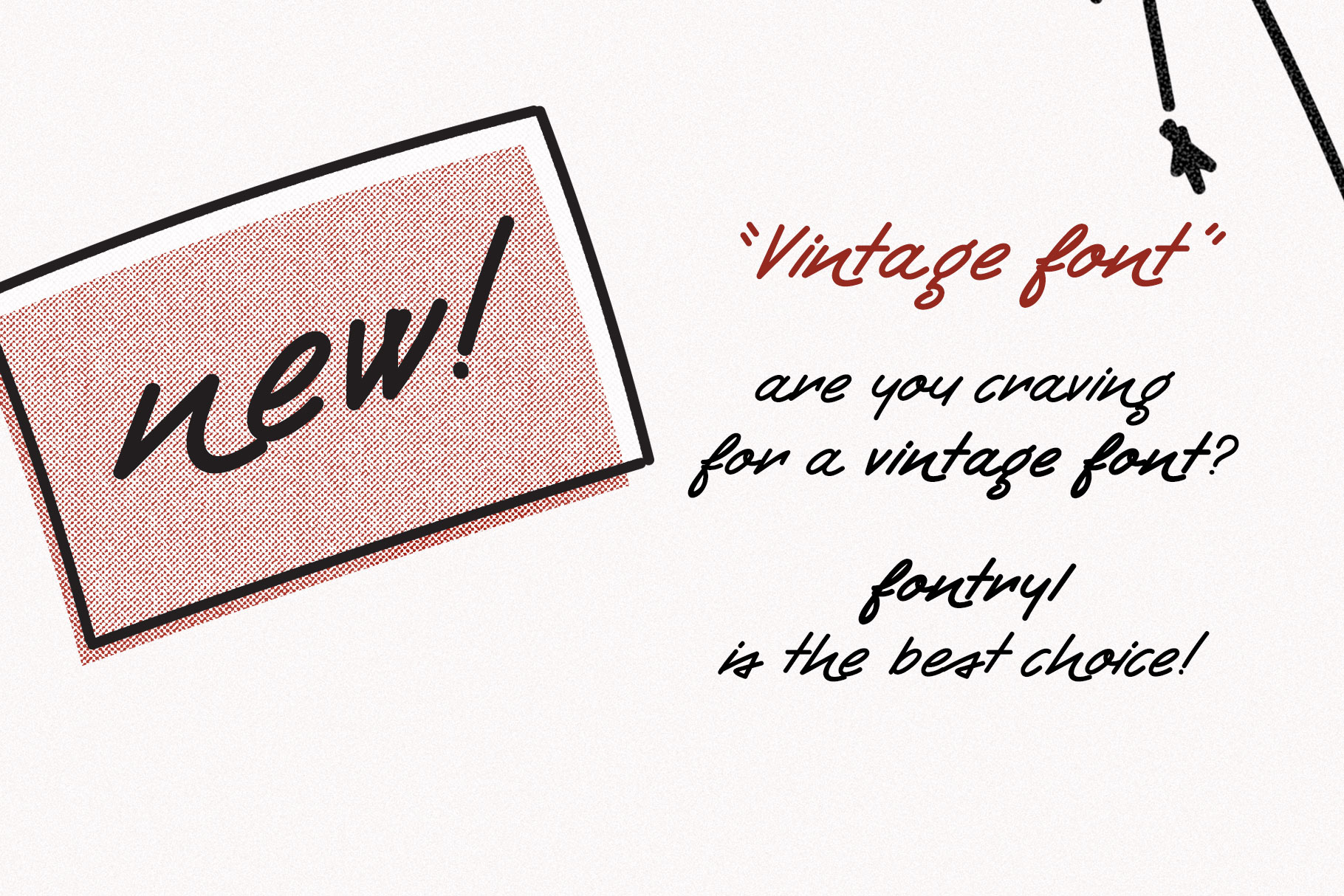 Retro Handwritten Font Fontryl example image 2