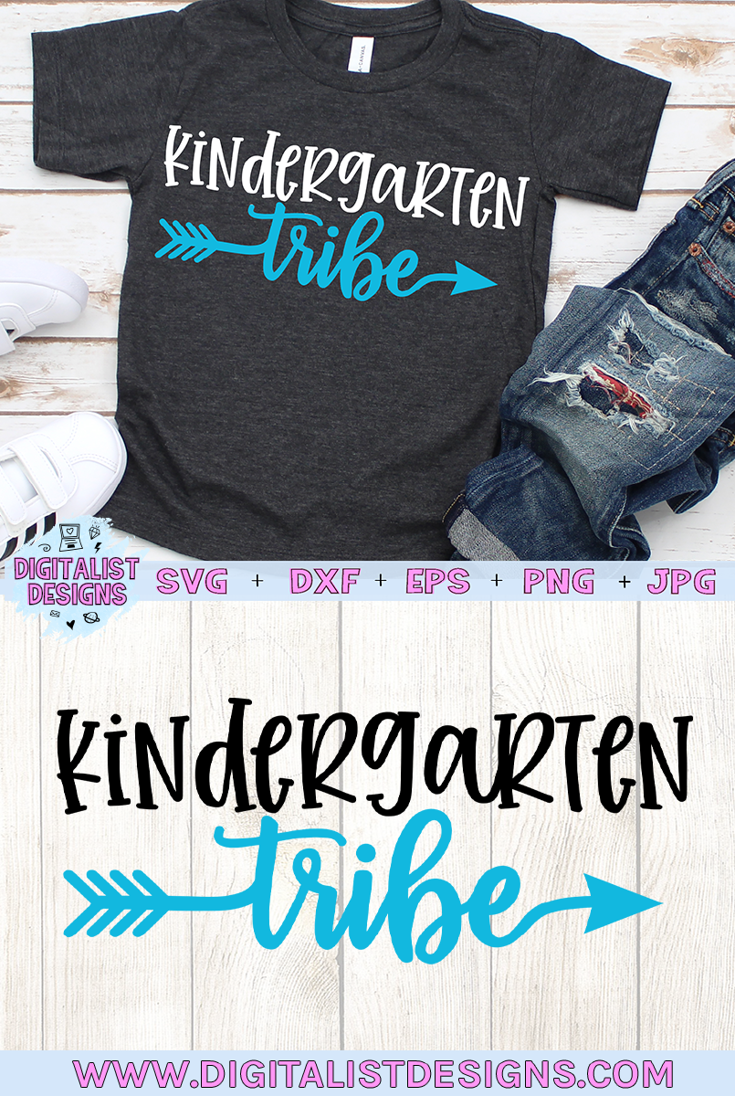 Kindergarten Tribe SVG, Kindergarten Svg, Tribe SVG example image 2