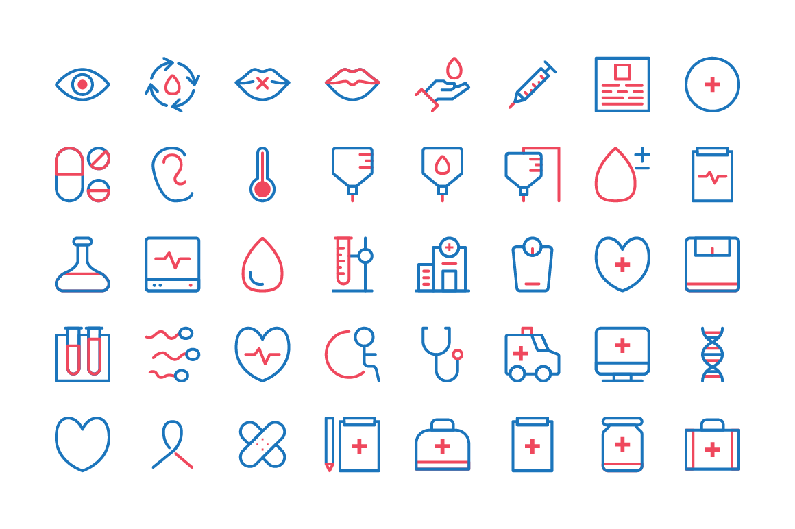 Whatsername Medical Icons example image 3