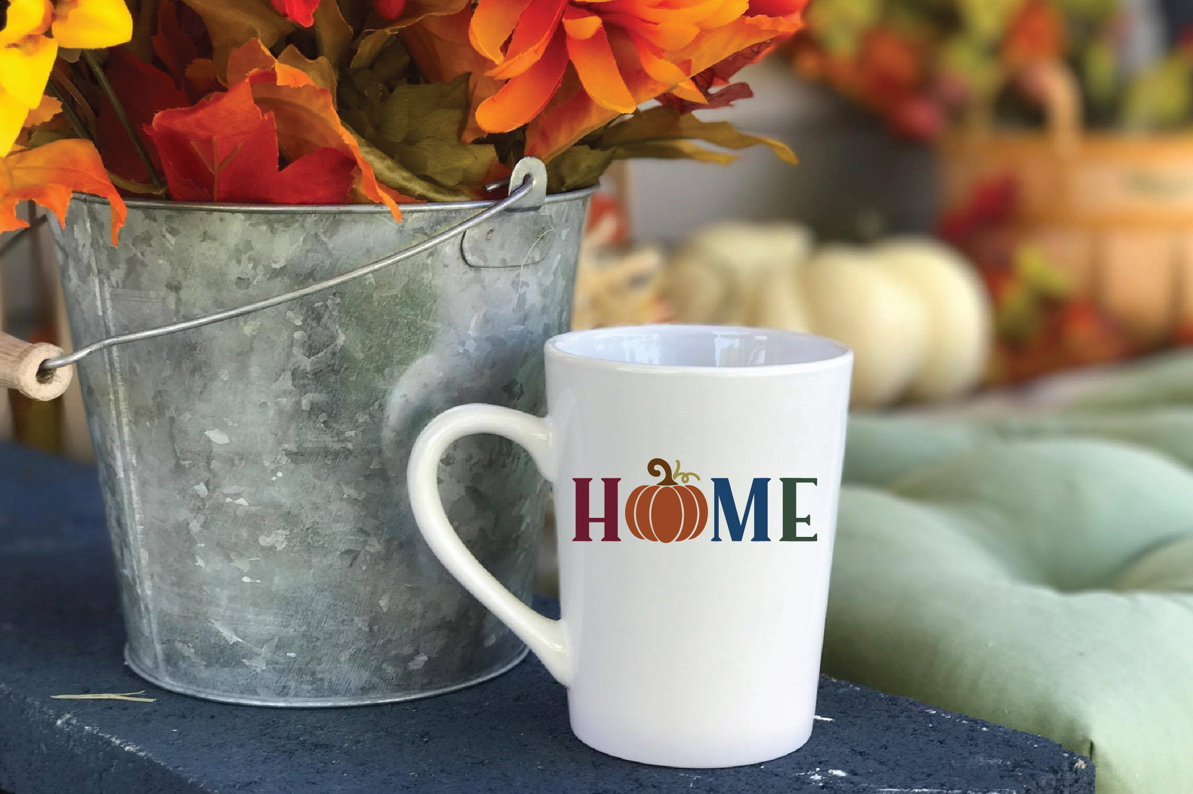 Home SVG Cut File - Fall Pumpkin SVG example image 6