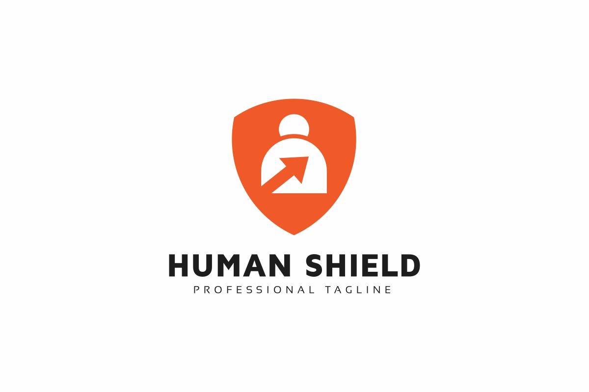 Human Shield Logo example image 1