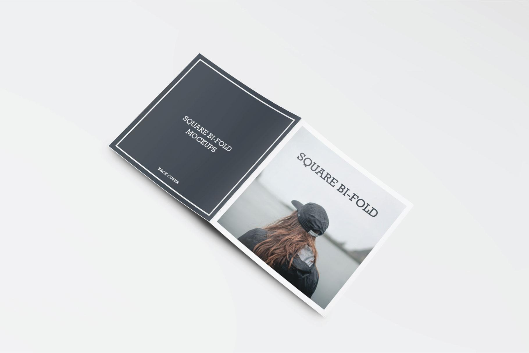 Square Greeting Card Mock-Ups example image 3