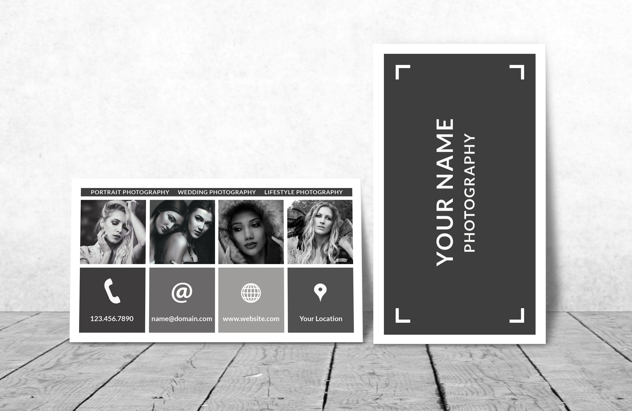 Business Card Template for Photoshop example image 3