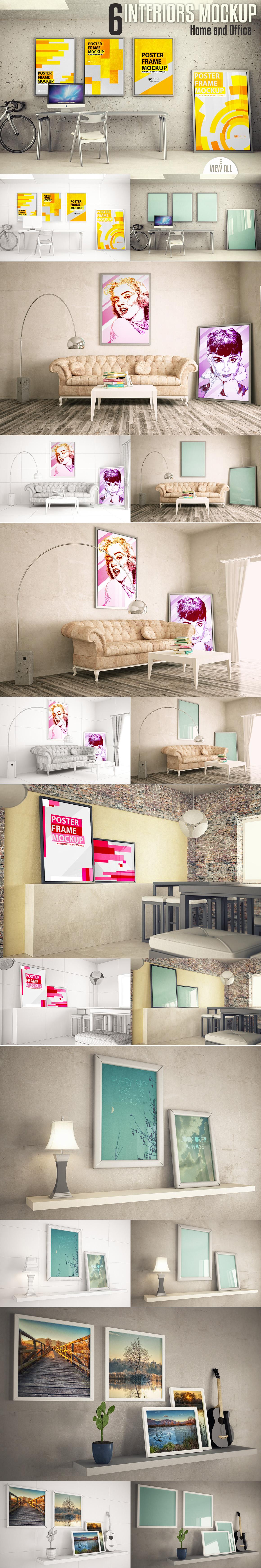 Interiors mock-up Vol. 2 example image 3
