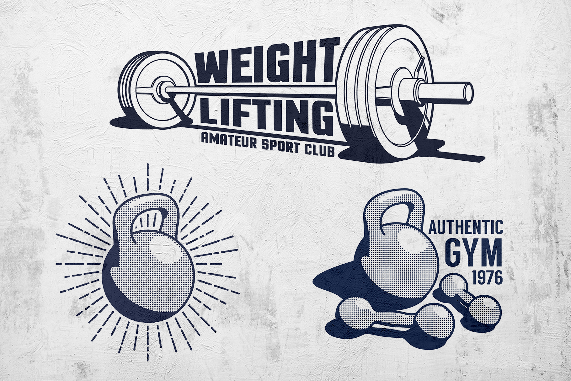 Weight Lifting Retro Pack example image 3