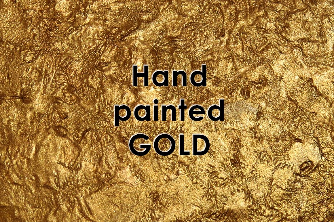 GOLD POMEGRANATE set example image 6