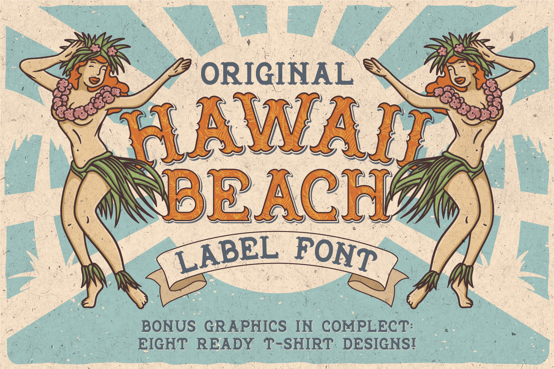 Hawaii Beach Typeface example image 1