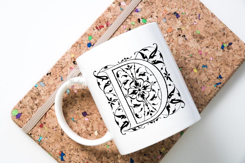 Mug mockup modern flatlay sublimation 11oz cup mock up example image 5