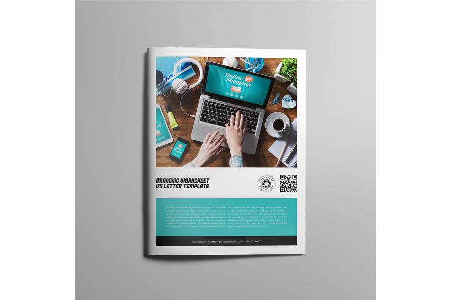 Branding Worksheet US Letter Template example image 4