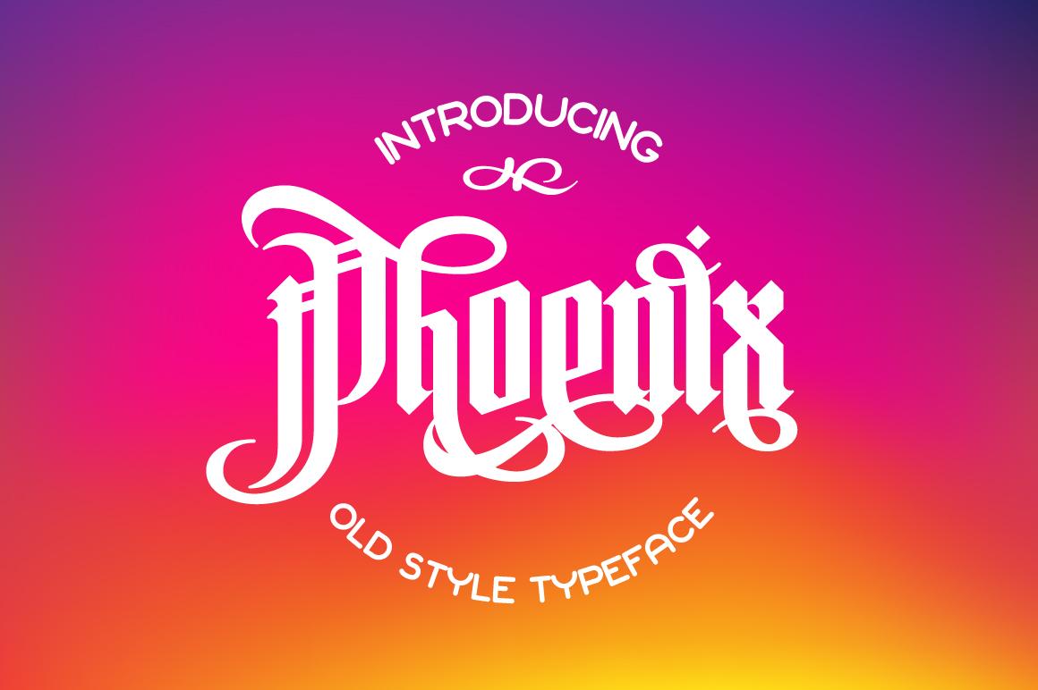 Gothic font bundle example image 3