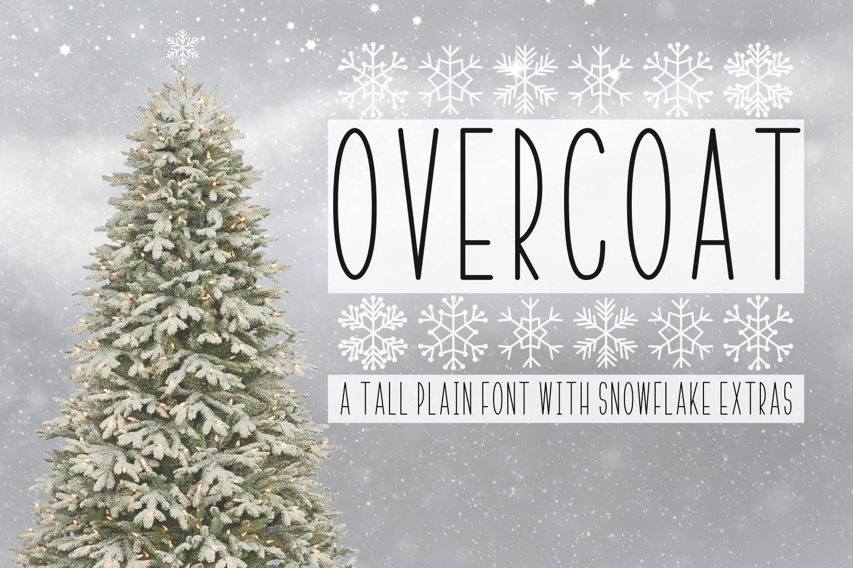 Overcoat & Snowflake Extras  example image 1