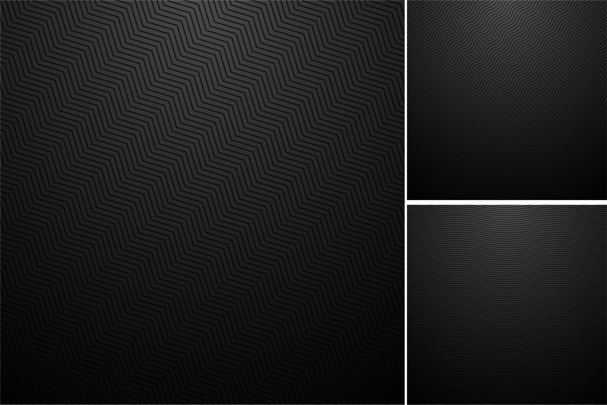 Dark striped textures.Carbon surface example image 5