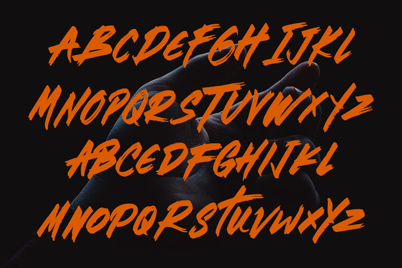 Brotherhood - Brush Script Font example image 5