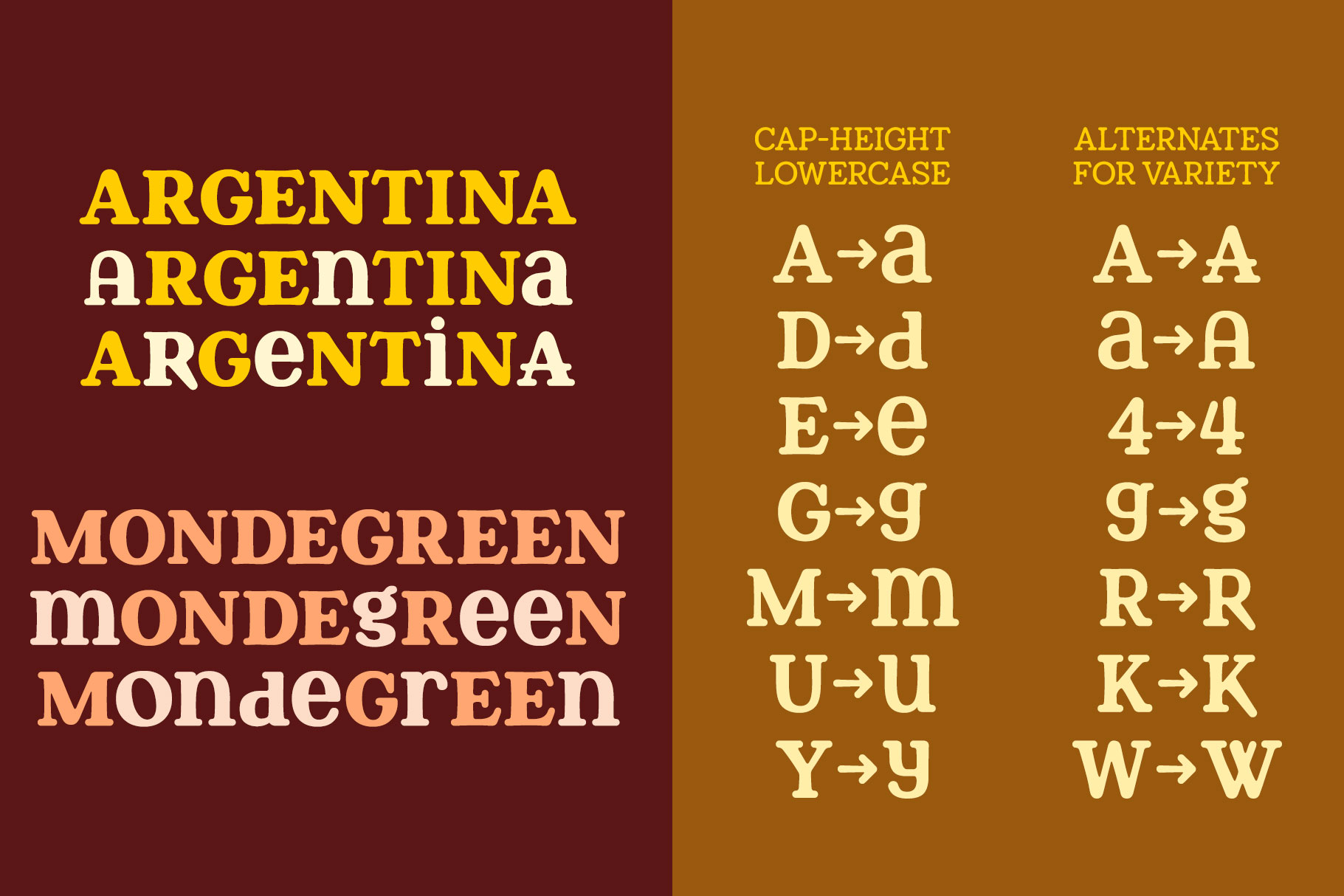 Berryfield - a quirky slab serif font family! example image 3