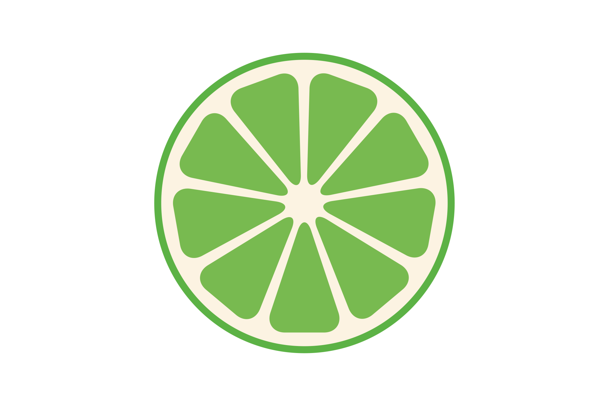 Collection of vector fruit icons example image 6