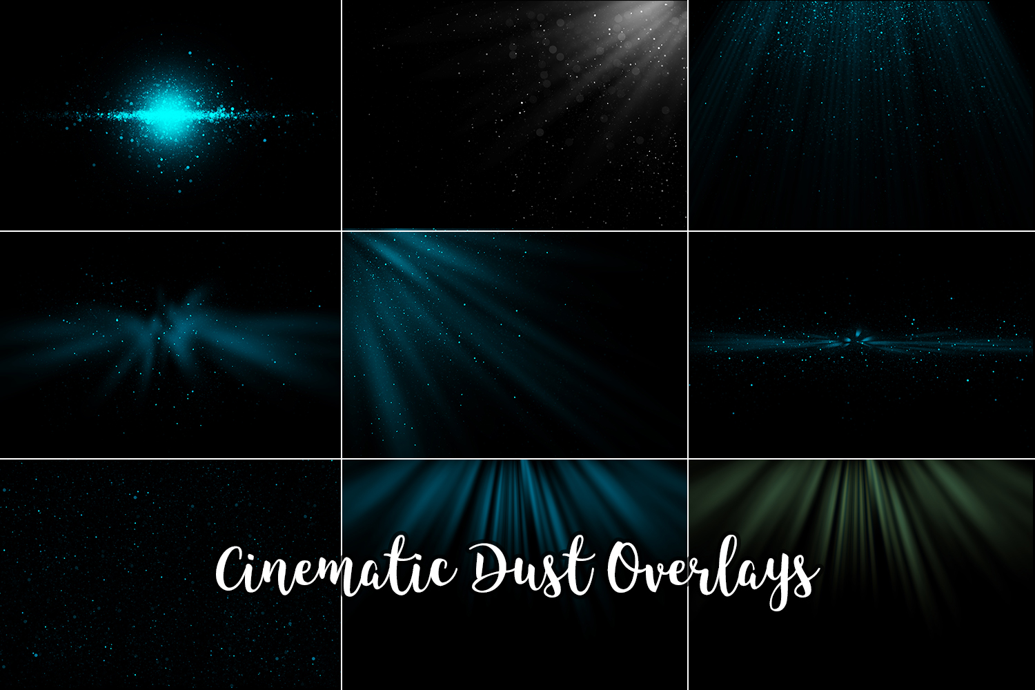 Cinematic Dust Photo Overlays, Bokeh Light Effects example image 3